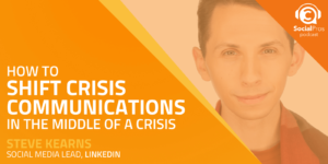 How to Shift Crisis Communications in the Middle of a Crisis