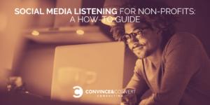 Social Media Listening for Non-Profits