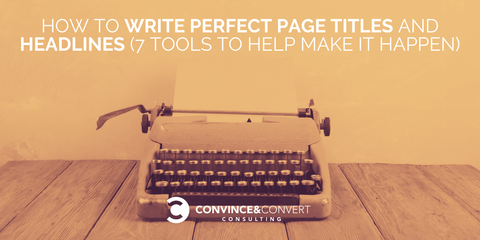 How to Write Page Titles & Headlines