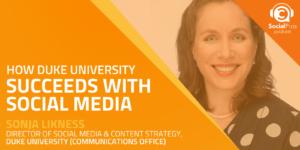 How Duke University Succeeds with Social Media