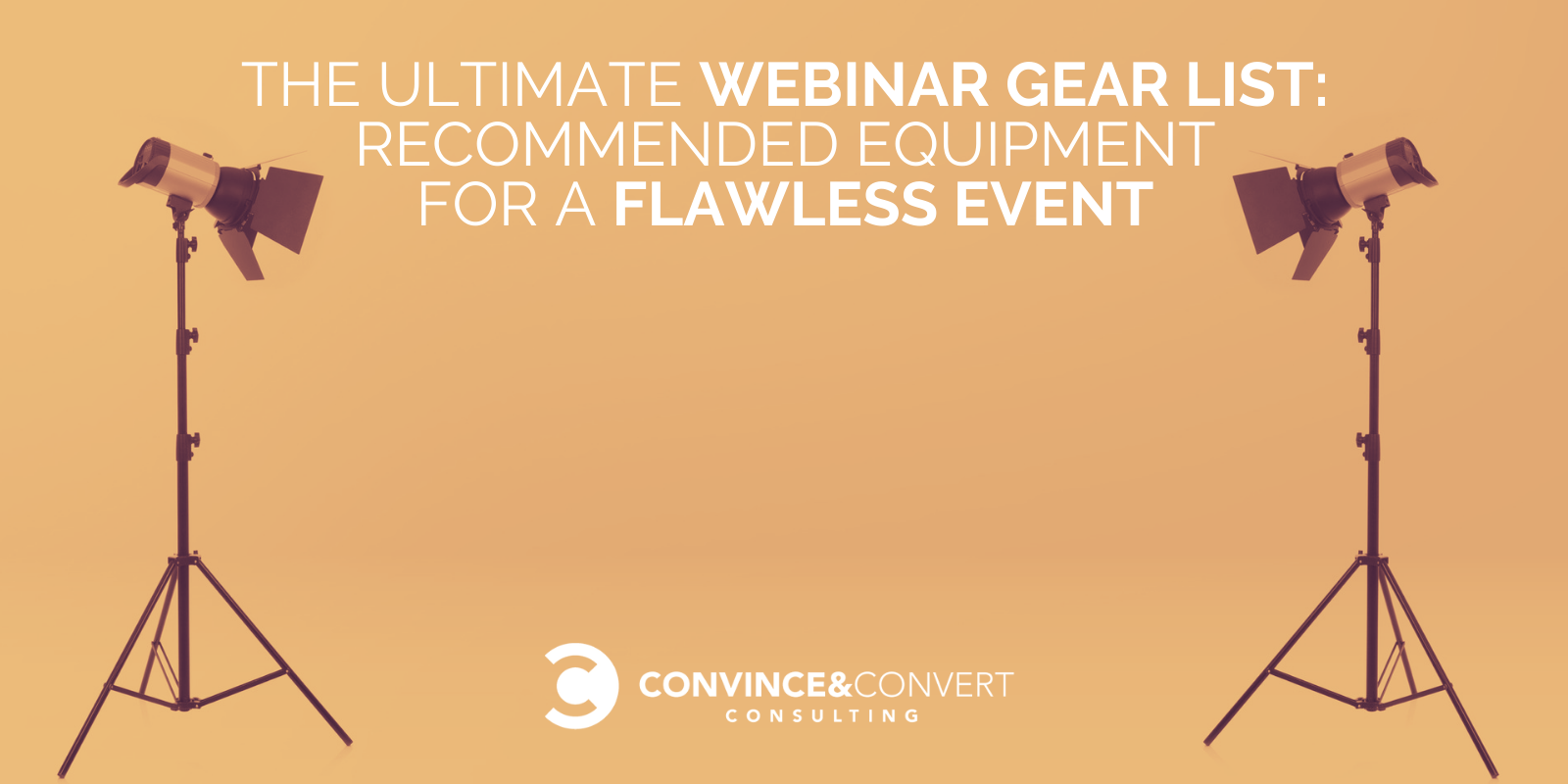 Ultimat Webinar Gear List