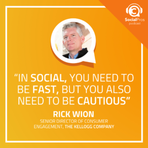 """""""In social, you need to be fast, but you also need to be cautious"""""""