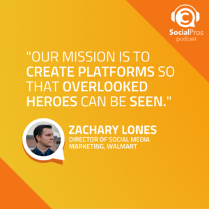 """""""Our mission is to create platforms so that overlooked heroes can be seen."""""""