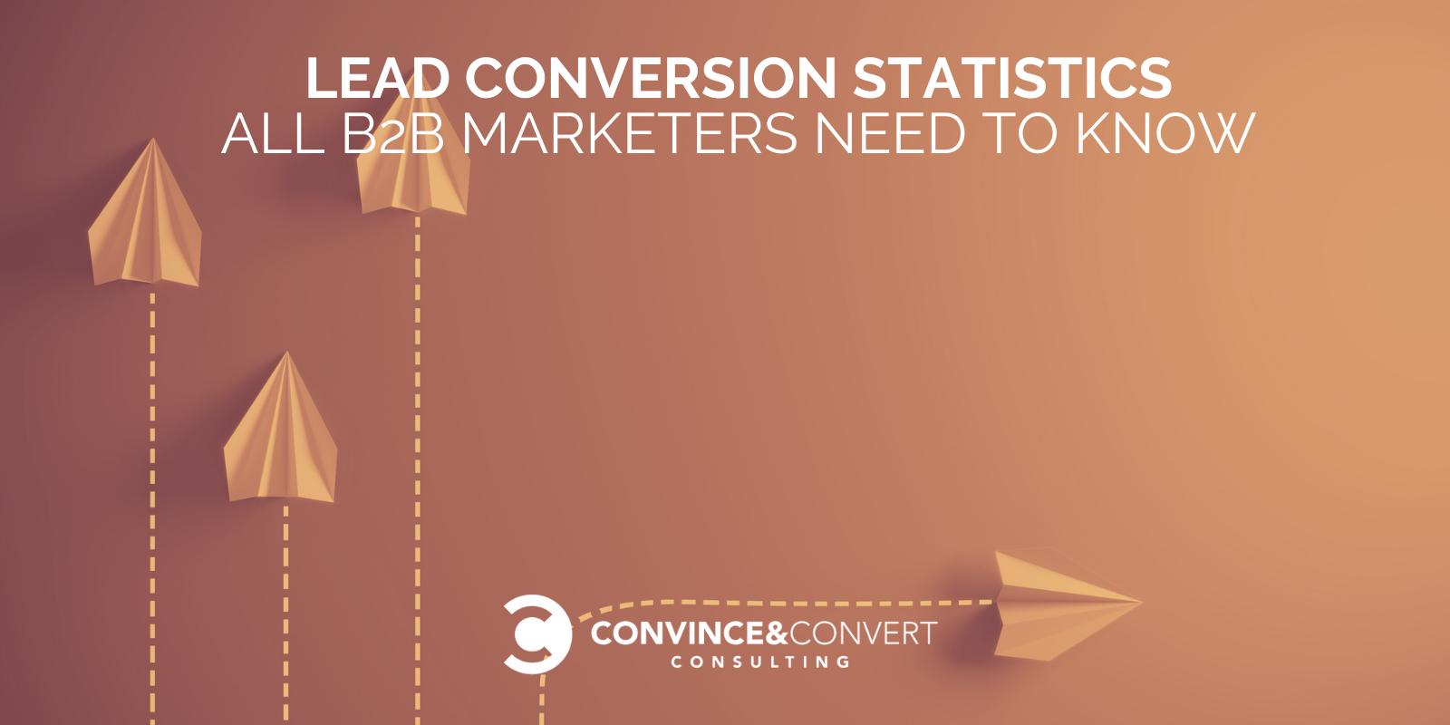 Estadísticas de conversión de clientes potenciales