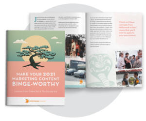 Make Your 2021 Marketing Content Binge-worthy cover image