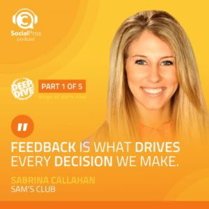 """""""Feedback is what drives every decision we make."""""""