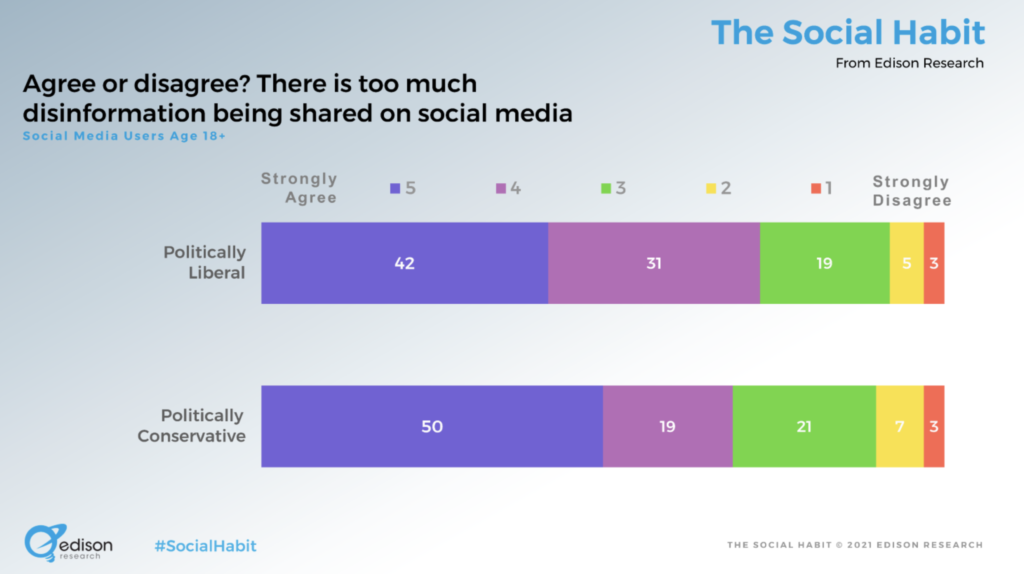 research on views on disinformation on social media