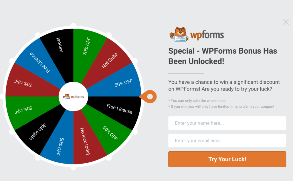 WPForms Example