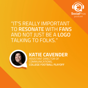 How the College Football Playoff Prioritizes Social Media Content