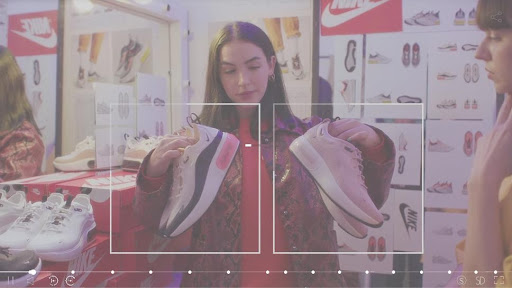 Nike interactive video example